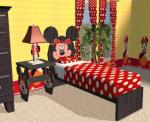 Minnie Bed and Endtable Preview