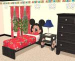 Mickey Bed and Endtable Preview