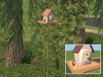 Bird House sculpture Preview