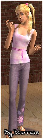 Pink and Purple Teen Outfit Preview