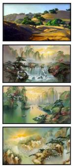 Oriental Landscapes Preview