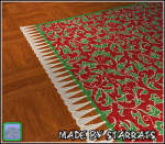 Christmas Leafs Rug Preview
