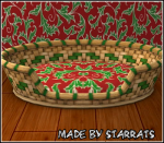 Christmas Leafs Petbasket Preview