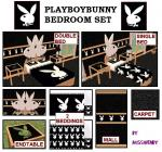 Playboy Bunny Bedroom Set Preview