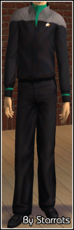 Green Starfleet Uniform Preview