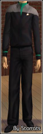 Green Starfleet Uniform Preview