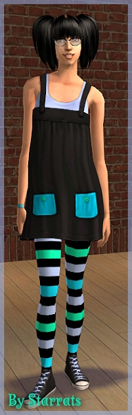 Black and Blue H&M recolor Preview