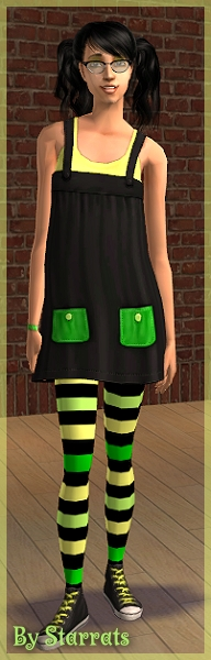 Black and Green H&M recolor Preview
