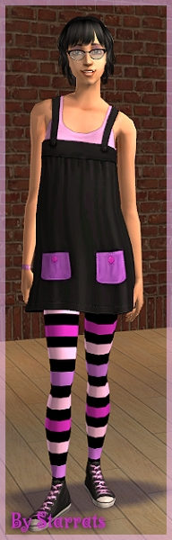 Black and Purple H&M recolor Preview