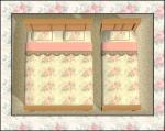 Peaches & Cream Bedding Preview