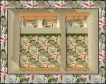 Peach Floral Bedding Preview