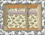 Purple Floral Bedding Preview