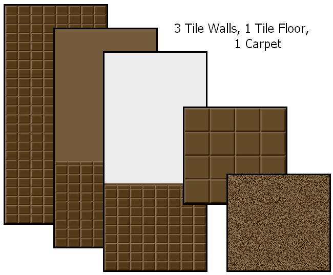 Tile Me Tender Walls & Floors (Brown) Preview