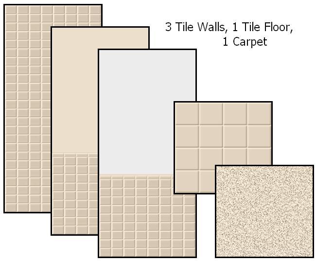 Tile Me Tender Walls & Floors (Ivory) Preview