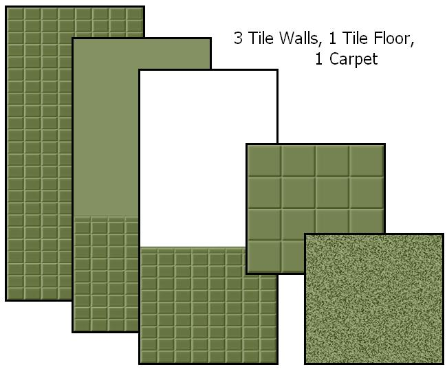 Tile Me Tender Walls & Floors (Sage) Preview