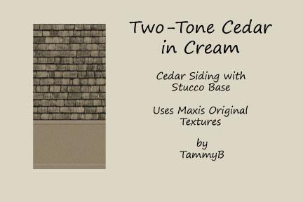 Two-Tone Cedar in Cream Preview