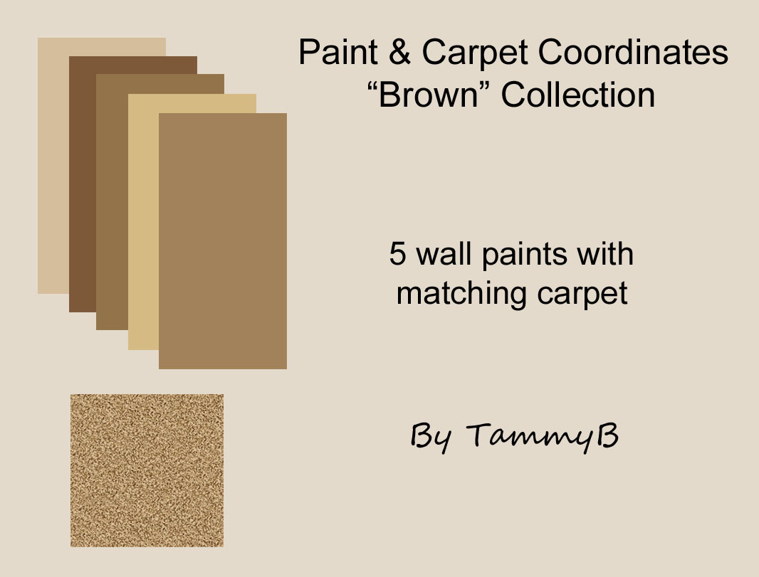 The Sims Zone Carpet And Paint Coordinates