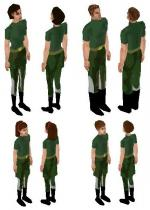 Army Gear Skin Set Preview
