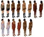Anime Skin Set Preview