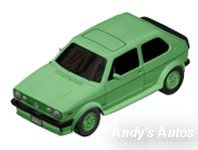 VW Golf GTI (Mint Green) Preview