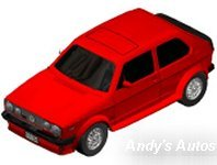 VW Golf GTI (Red) Preview