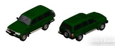 Toyota SUV (Hunter Green) Preview