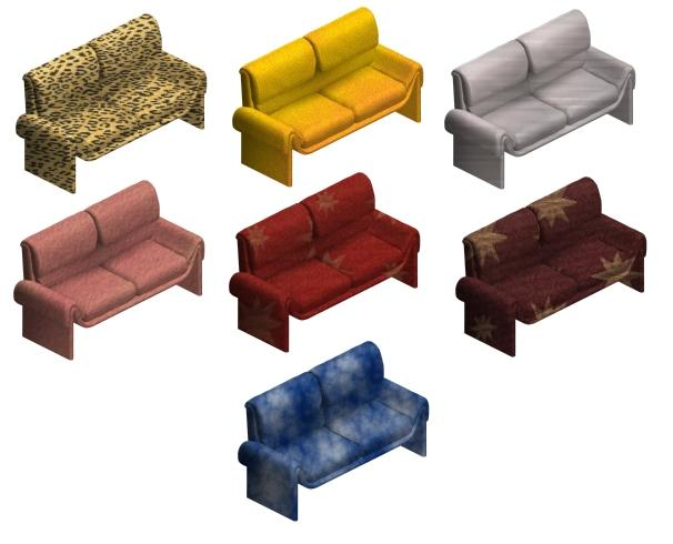 Loveseat Modset Preview