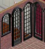 Black Window and Door Set Preview