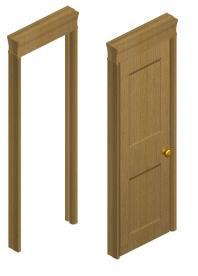 Oak Door Set Preview