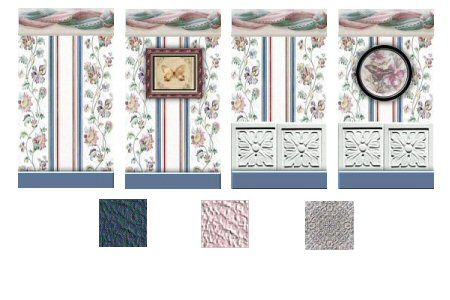 Living Room Floral Collection Preview