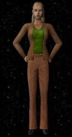 Brown Vest with Green Top Preview
