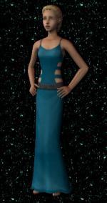 Blue Dress Preview