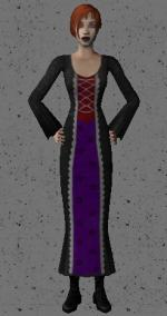 Simple Gothic Dress Preview