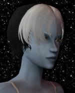 Black and White Female Elf Hair 2 Preview