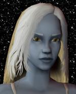 Blond and White Female Elf Hair 1 Preview