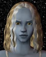 Blond and White Female Elf Hair 2 Preview