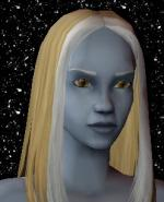 Blond and White Female Elf Hair 3 Preview
