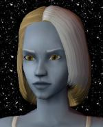 Blond and White Female Elf Hair 4 Preview