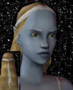 Blond and White Female Elf Hair 5 Preview