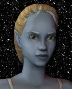 Blond and White Female Elf Hair 6 Preview