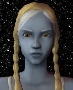 Blond and White Female Elf Hair 7 Preview