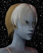 Blond and White Female Elf Hair 8 Preview