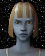 Blond and White Female Elf Hair 9 Preview