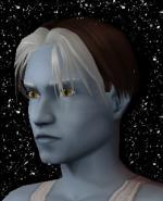 Brown and White Male Elf Hair 2 Preview