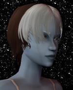 Brown and White Female Elf Hair 1 Preview