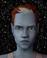 Red and White Male Elf Hair 2 Preview