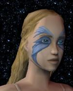 Blue Facepaint Preview