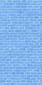Blue brick wall Preview