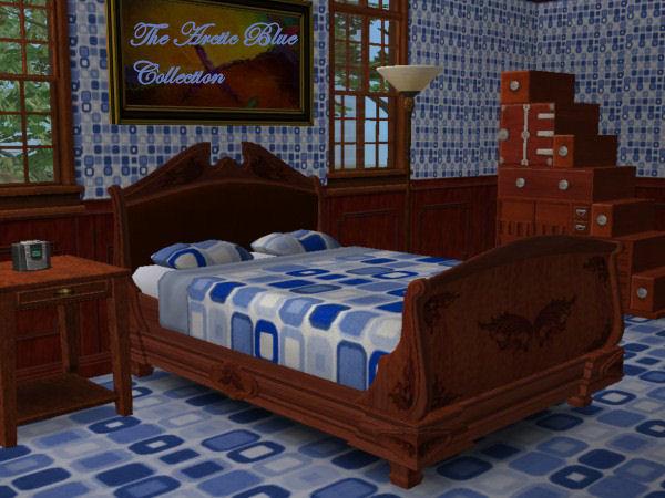 The Blue Matrix Bedroom Preview