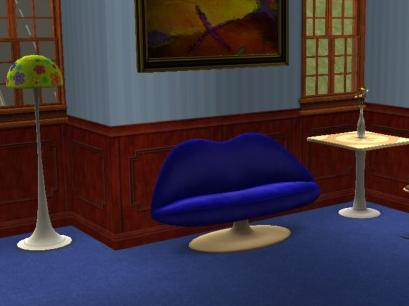 Blue Love Seat Preview